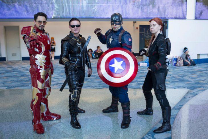 Cosplay inspirando en Avengers para la Expo D23, Disney