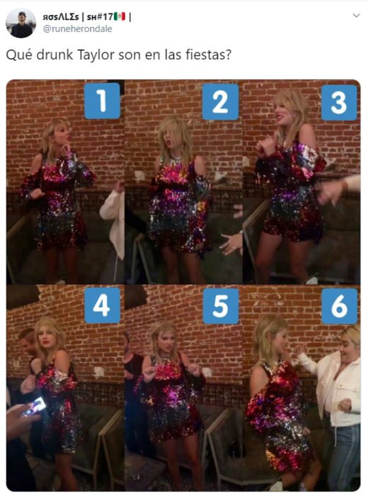 Comentarios sobre la fiesta de Taylor Swift