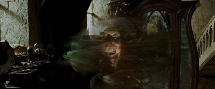 Boggarts, clase de denfensa contra las artes oscuras, Harry Potter
