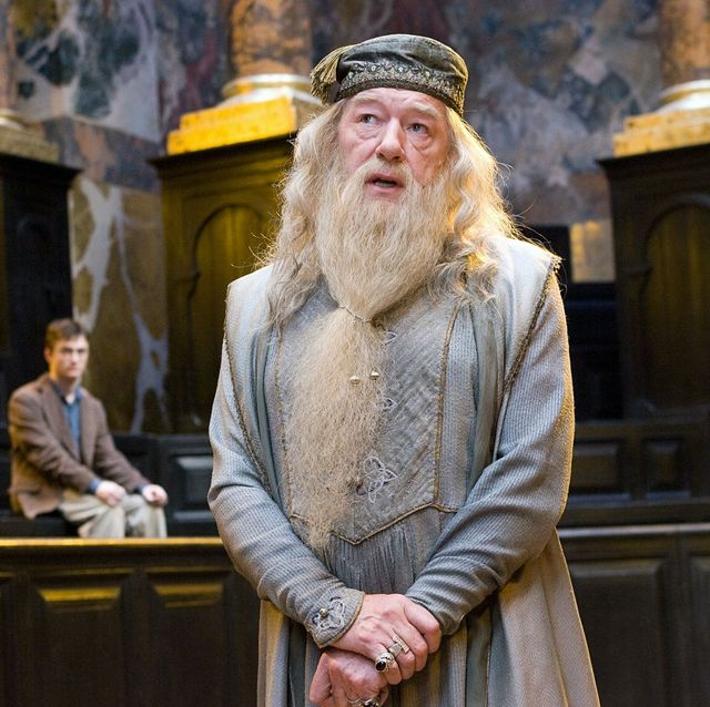 Albus Dumbledore ignorando a Harry Potter