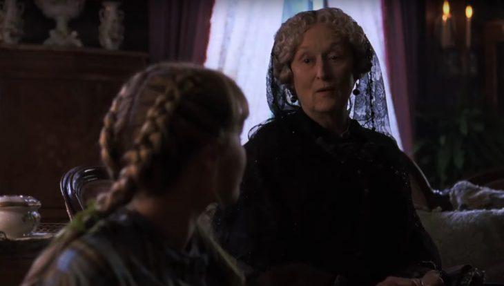 Tráiler de película Mujercitas del 2019; Meryl Streep como la tía March