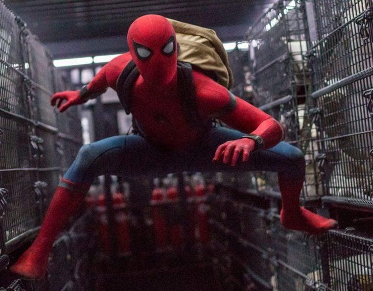 Tom Holland como Spider-Man en el MCU
