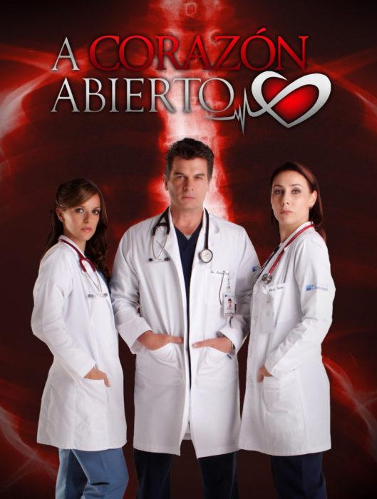 cartel publicitario de 'A corazón abierto' de TV Azteca