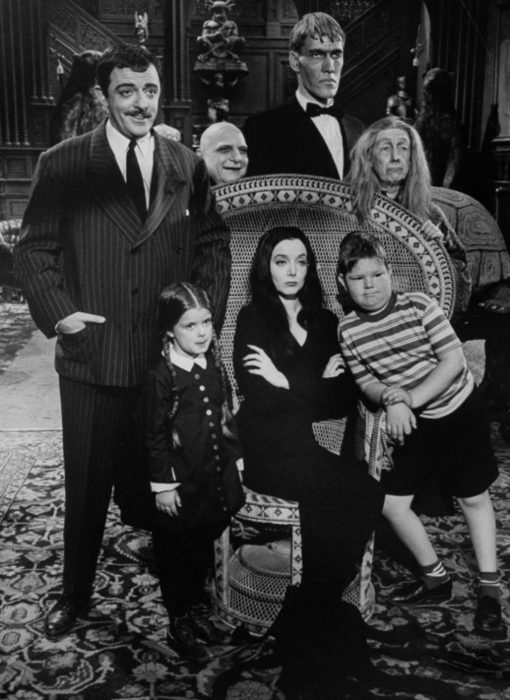La familia Addams original de 1964