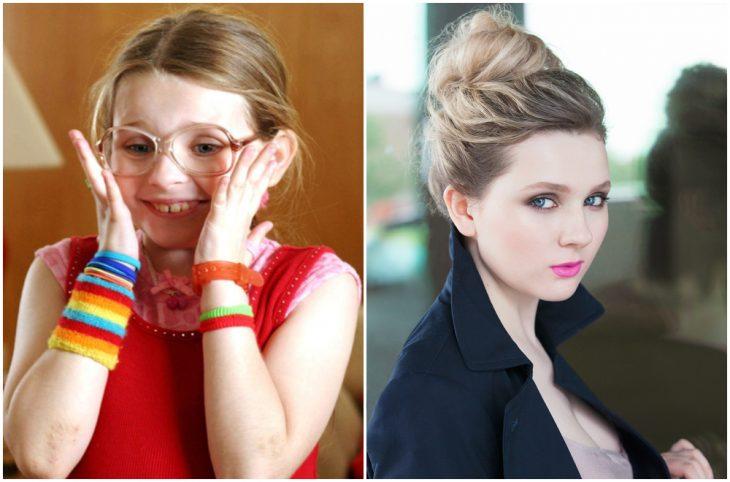 Abigail Breslin de niña y adulta