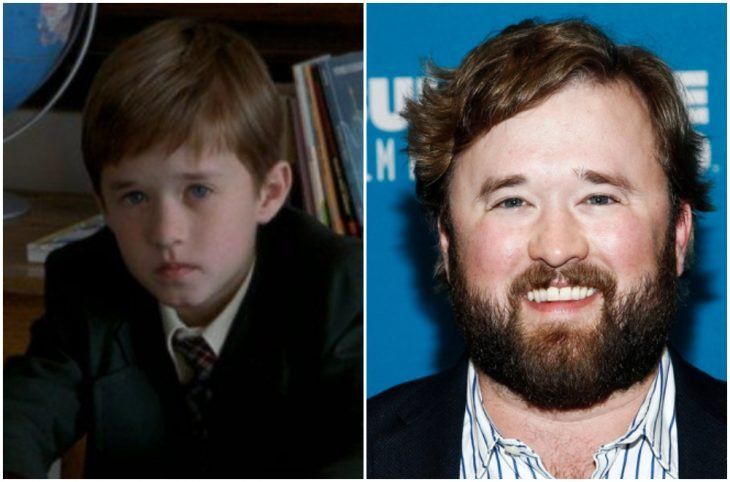 Haley Joel Osment de niño y adulto