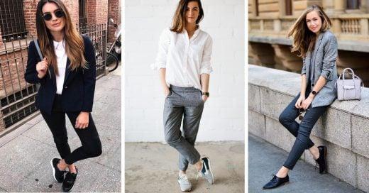 15 Outfits cómodos para usar en el trabajo y no verte informal