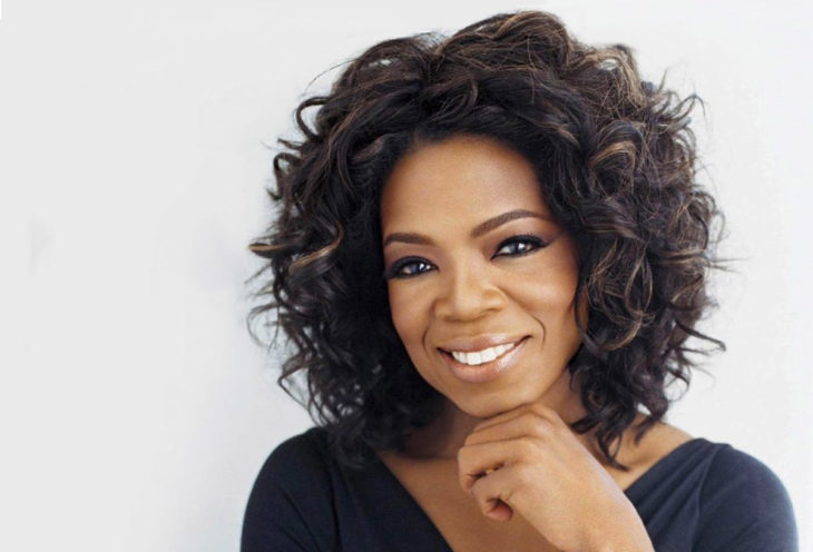 Presentadora de tv Oprah Winfrey