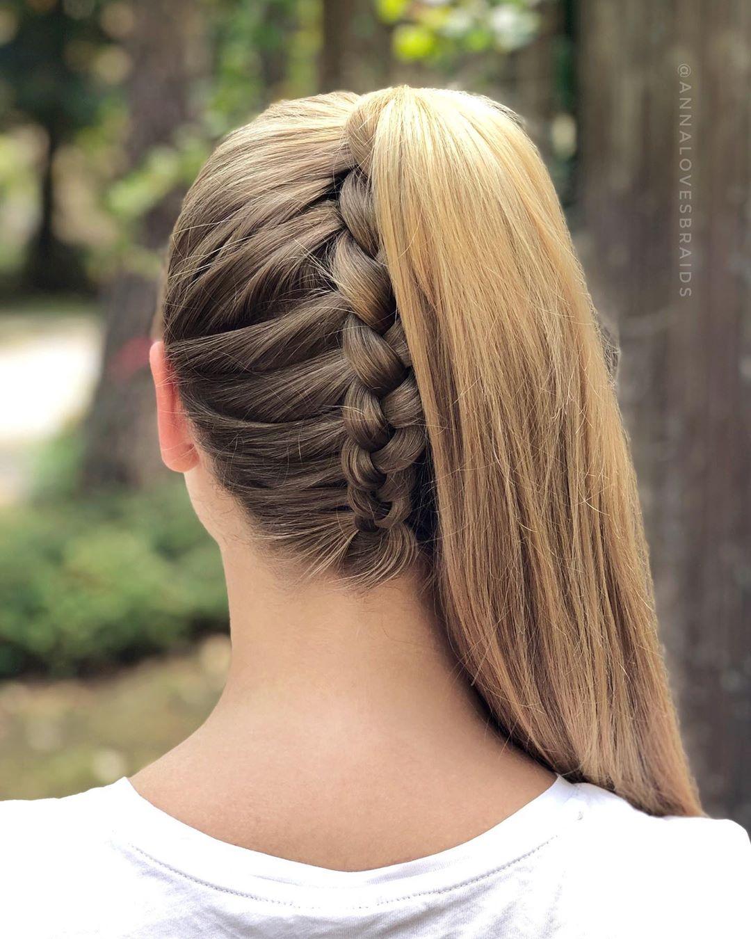 Cómo conseguir un peinados con coletas altas Galería De Tutoriales De Color De Pelo - 15 Peinados con cola de caballo que harás en 15 minutos