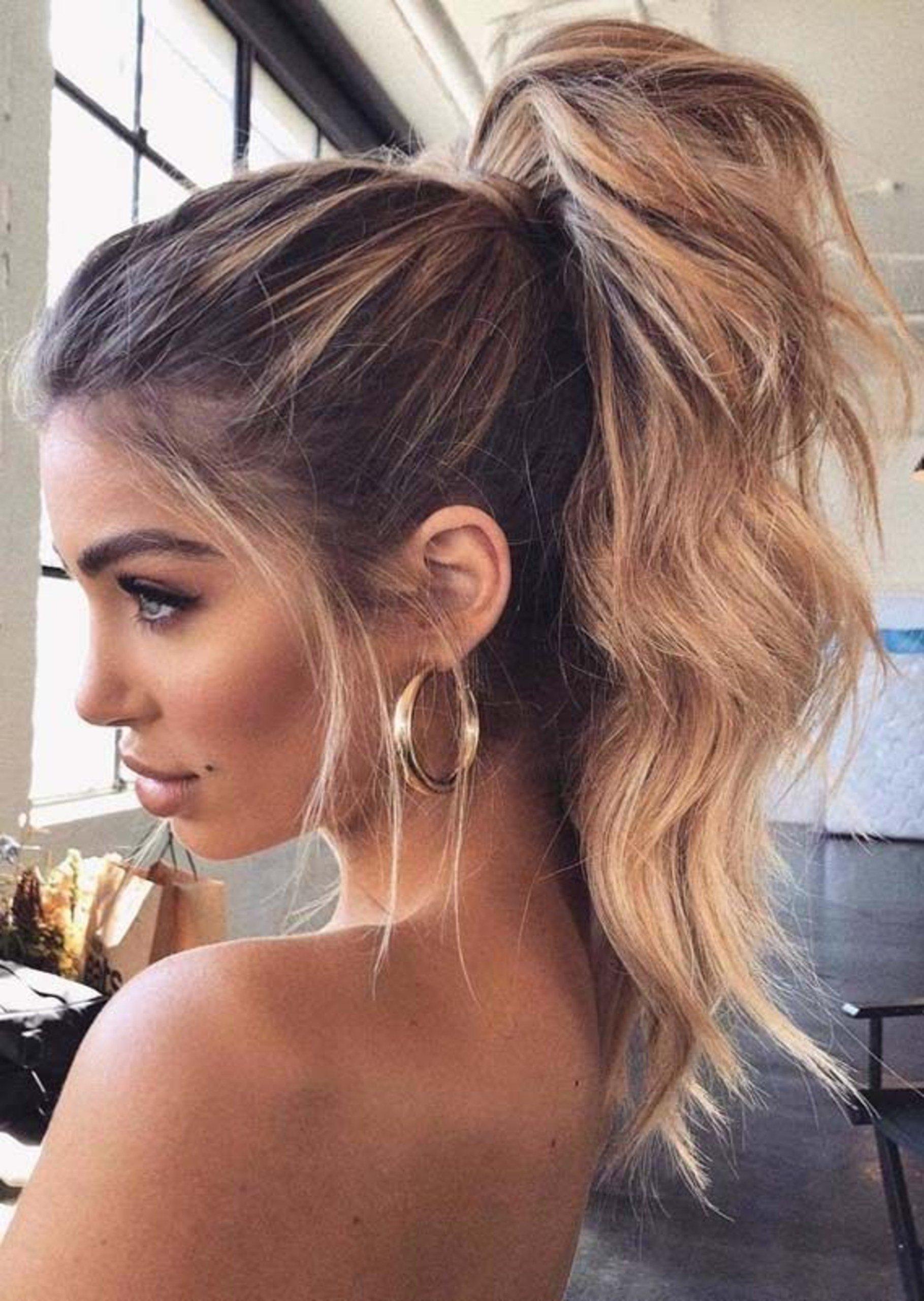 Clásico y sencillo peinados con coletas altas Imagen de cortes de pelo tutoriales - 15 Peinados con cola de caballo que harás en 15 minutos