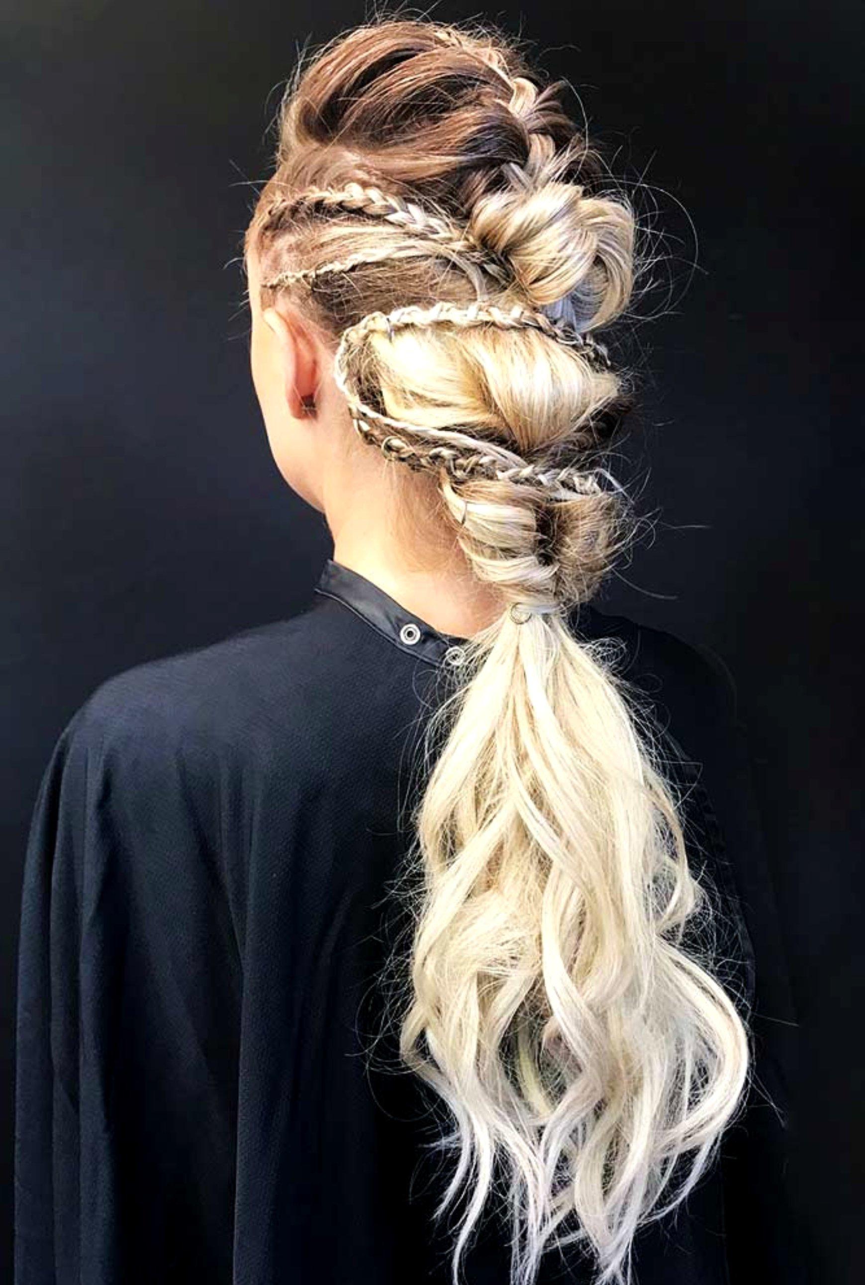 Peinados Con Trenzas Vikingas Para Darle Rudeza A Tu Estilo