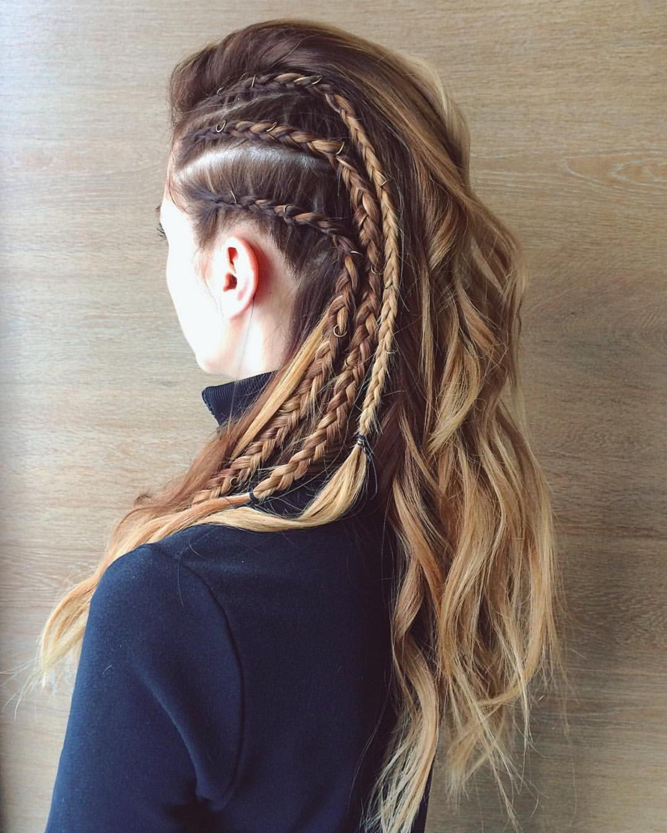Espectacular vikingos peinados Fotos de cortes de pelo Consejos - Peinados con trenzas vikingas para darle rudeza a tu estilo