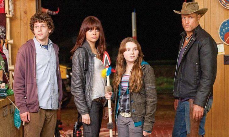Emma Stone como Wichita en la película de risa Zombieland