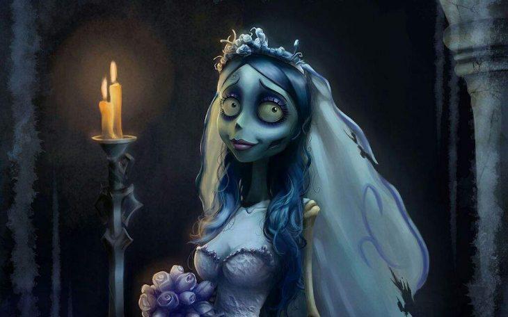 Animación de la película de Tim Burton El cadáver de la novia