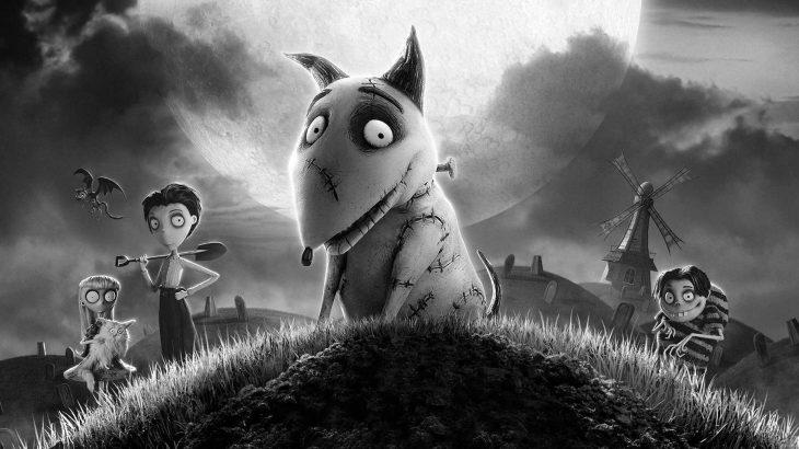 Animación de el perro Sparky en la película Frankenweenie de Tim Burton