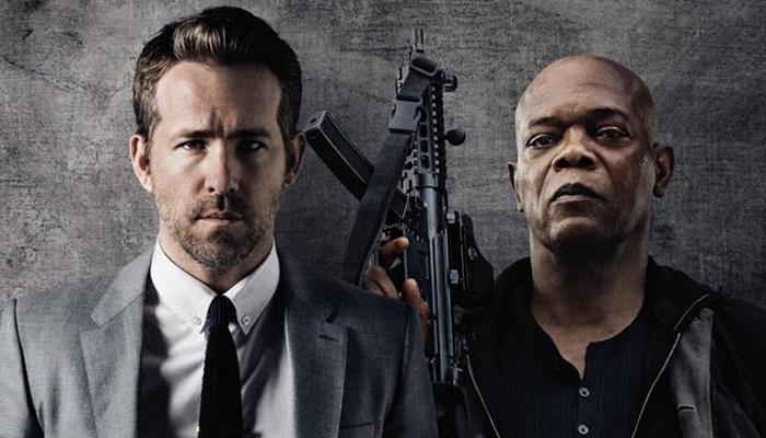 Ryan Reynolds y Samuel L. Jackson en la película El otro guardaespaldas