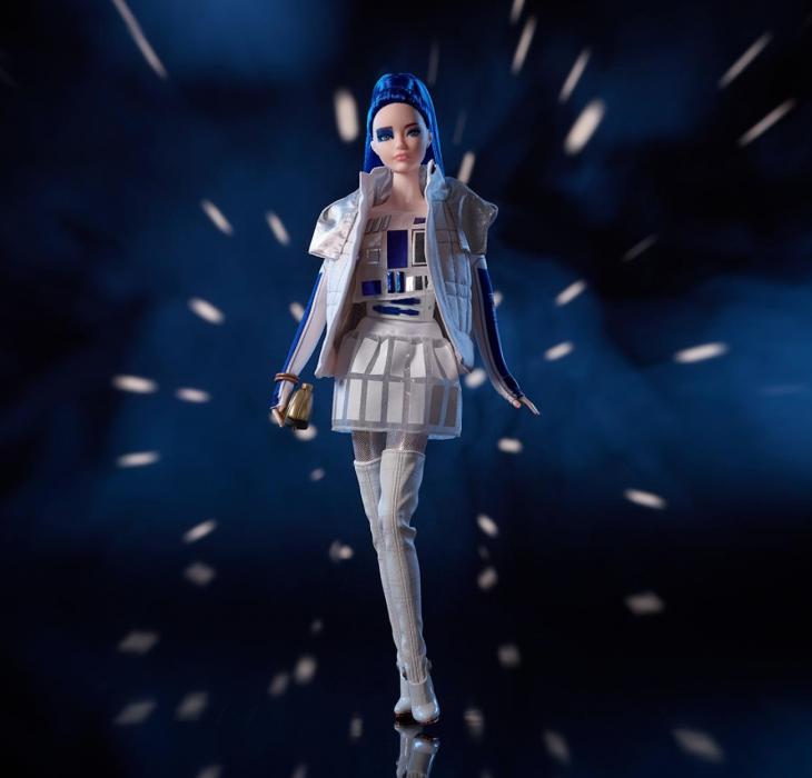 Barbie R2D2