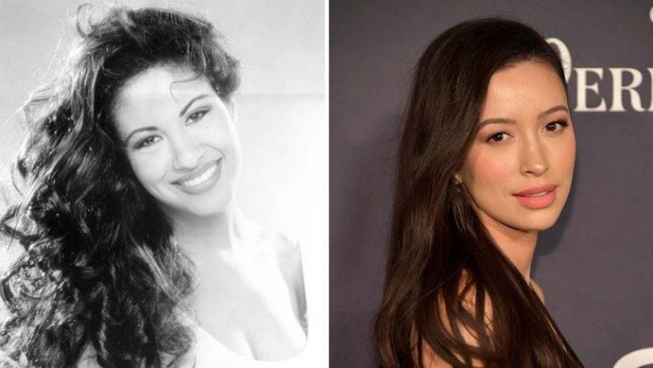 Comparación de Selena Quintanilla y Christian Serratos