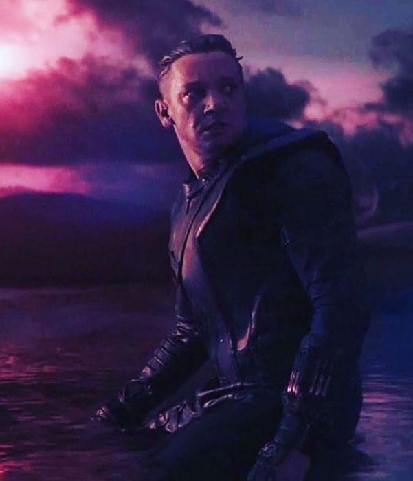 Jeremy Renner como Hawkeye del MCU