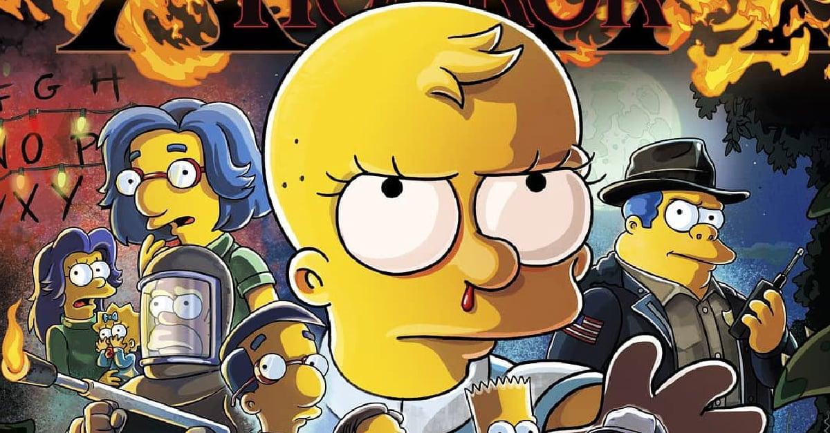 'Stranger Things' será el protagonista del episodio 666 de 'Los Simpson' en Halloween