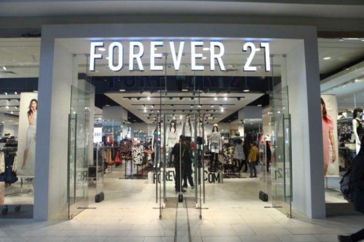 Fachada de la tienda Forever 21