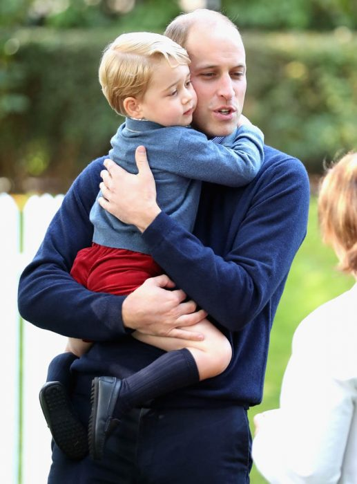 Príncipe William y su hijo George