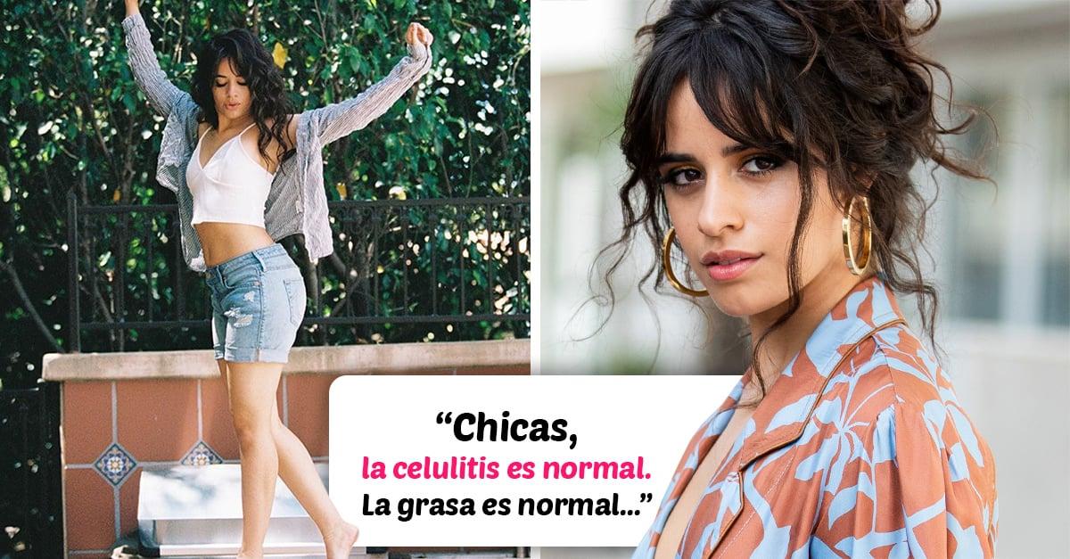 """Camila Cabello se defiende de quienes la critican por tener """"celulitis"""""""