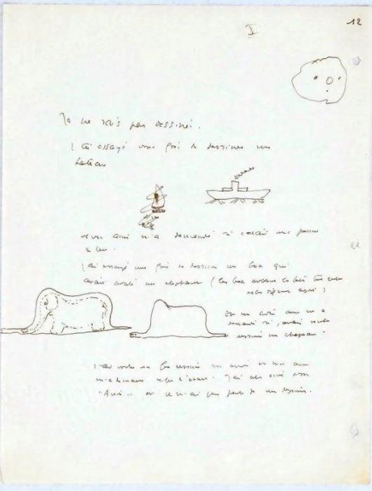 Poema de Antonie de Saint-Exupéry encontrado en Suiza
