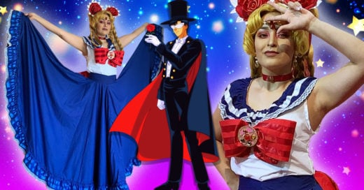 Cosplayer unió el mundo de 'Sailor Moon' y el folklore mexicano