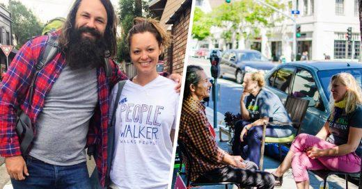"""Venden abrazos y rentan """"paseantes"""": nuevos negocios para paliar la epidemia de soledad en EE. UU."""