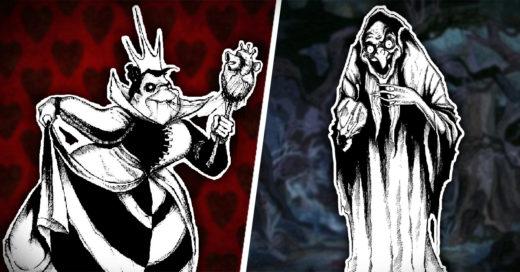 Villanos de Disney dan más miedo que antes después de que artista los recreara con su propio estilo