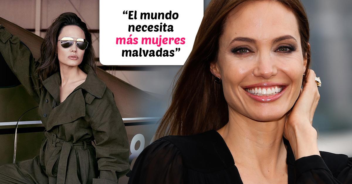 """-""""Más mujeres malvadas para el mundo"""", pide Angelina Jolie"""