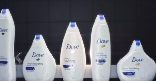 Dove lanza nueva campaña con envases que aluden a la diversidad del cuerpo femenino