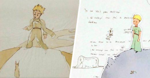 bocetos encontrados de El Principito