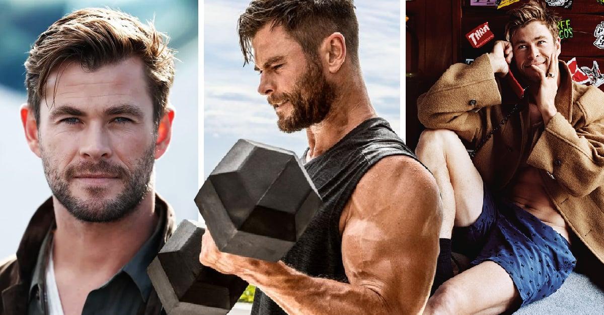20 Fotos de Chris Hemsworth que reafirman por que es el dios de... nuestro corazón