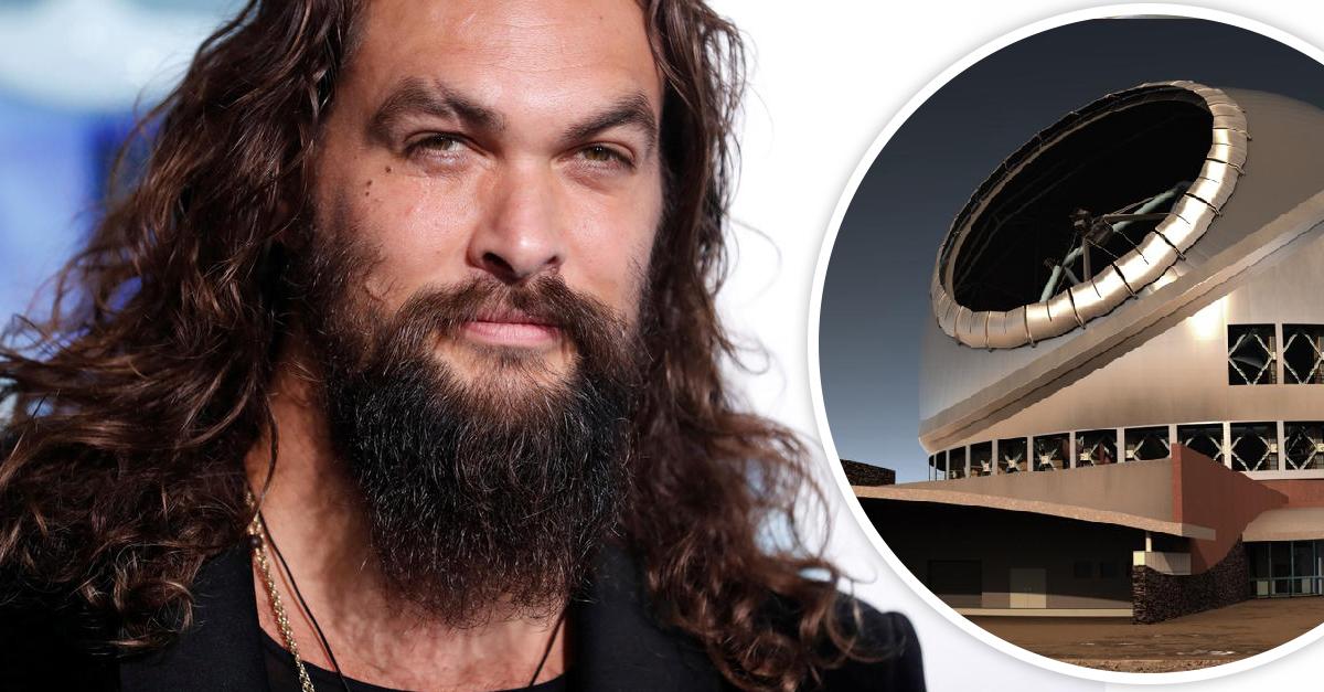 Jason Momoa amenaza con no grabar 'Aquaman 2' si no se detiene la construcción de un telescopio