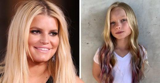 Critican severamente a Jessica Simpson por pintar el cabello de su hija