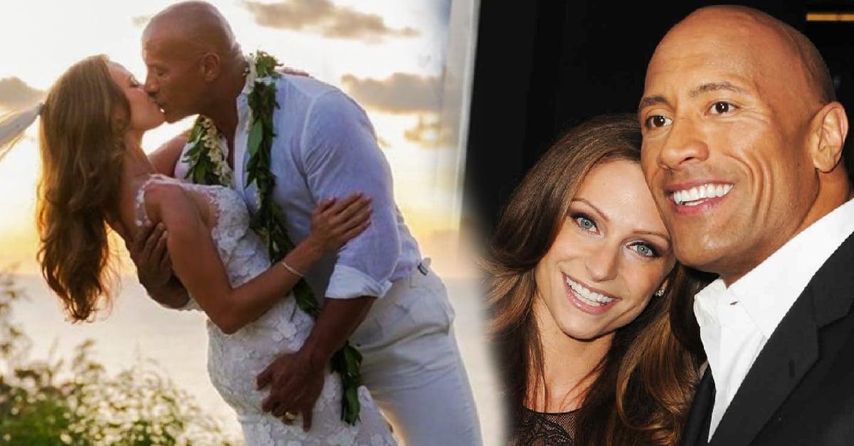 """Dwayne """"La Roca"""" Johnson y Lauren Hashian se dieron el """"sí, quiero"""" en Hawái"""