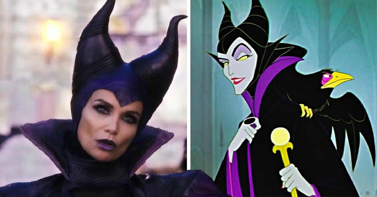 Los personajes de 'Descendientes' en las películas vs las caricaturas