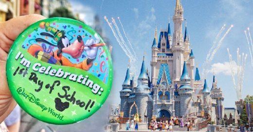 Mujer celebra el regreso a clases con una merecida visita a Disney