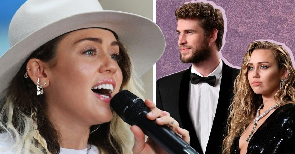Miley Cyrus le dice 'adiós' a Liam con su nueva canción 'Slide Away'