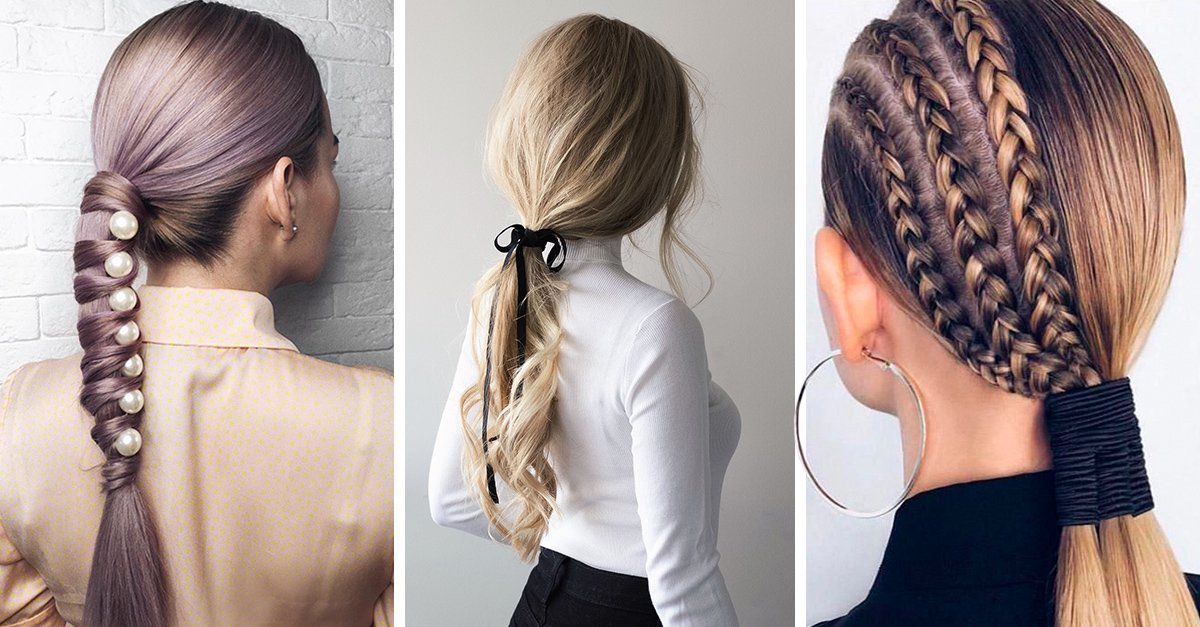 15 Peinados con cola de caballo que harás en 15 minutos