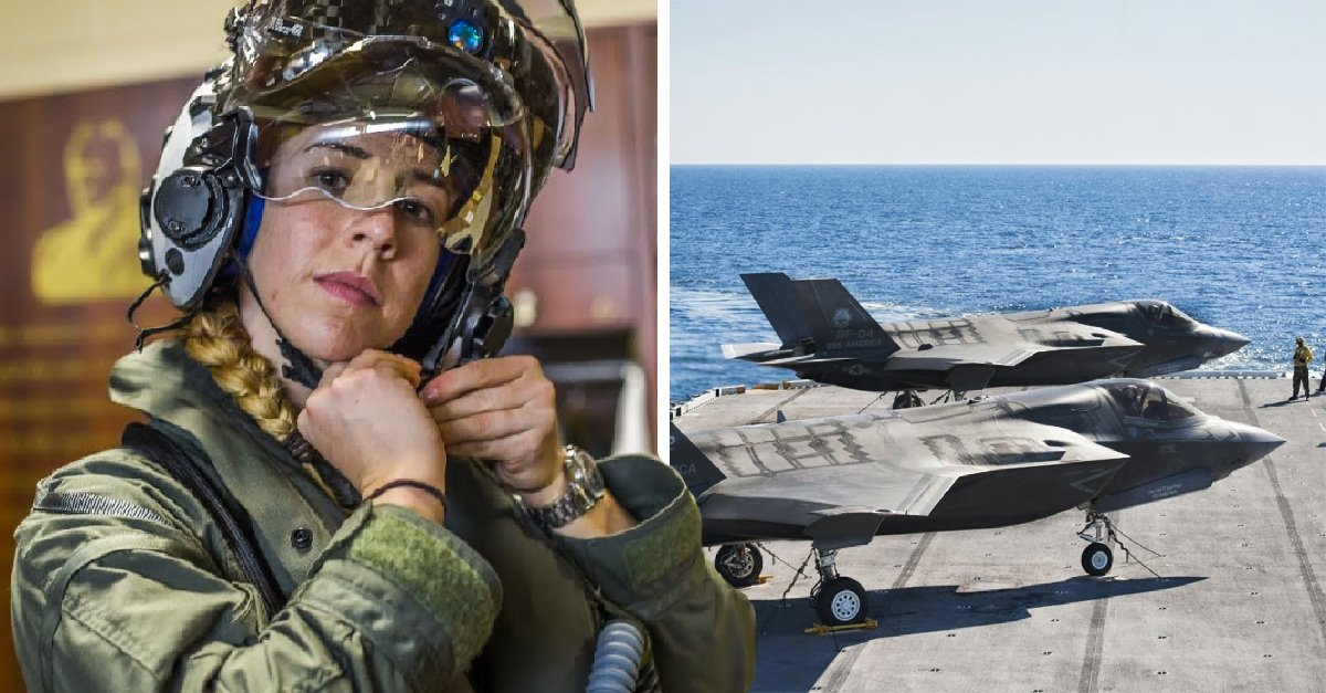 Pimera mujer piloto del Cuerpo de Marines de Estados Unidos se unirá a su escuadrón en Japón