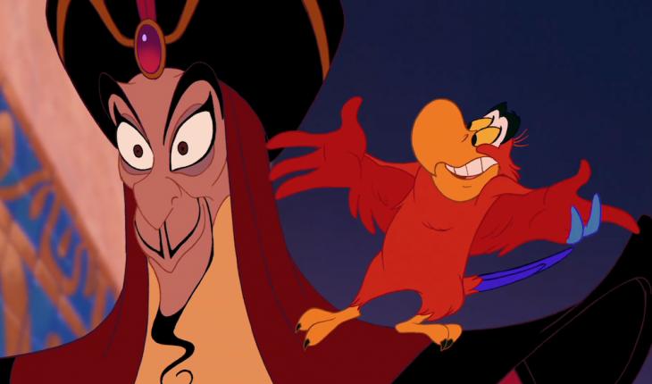 Escena de la película Aladdin: el regreso de jaffar