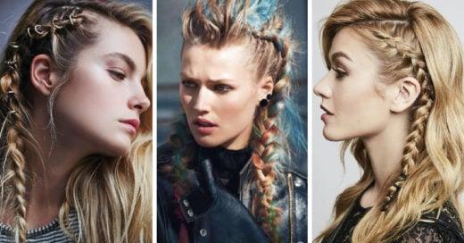 28 Geniales peinados para una vikinga moderna