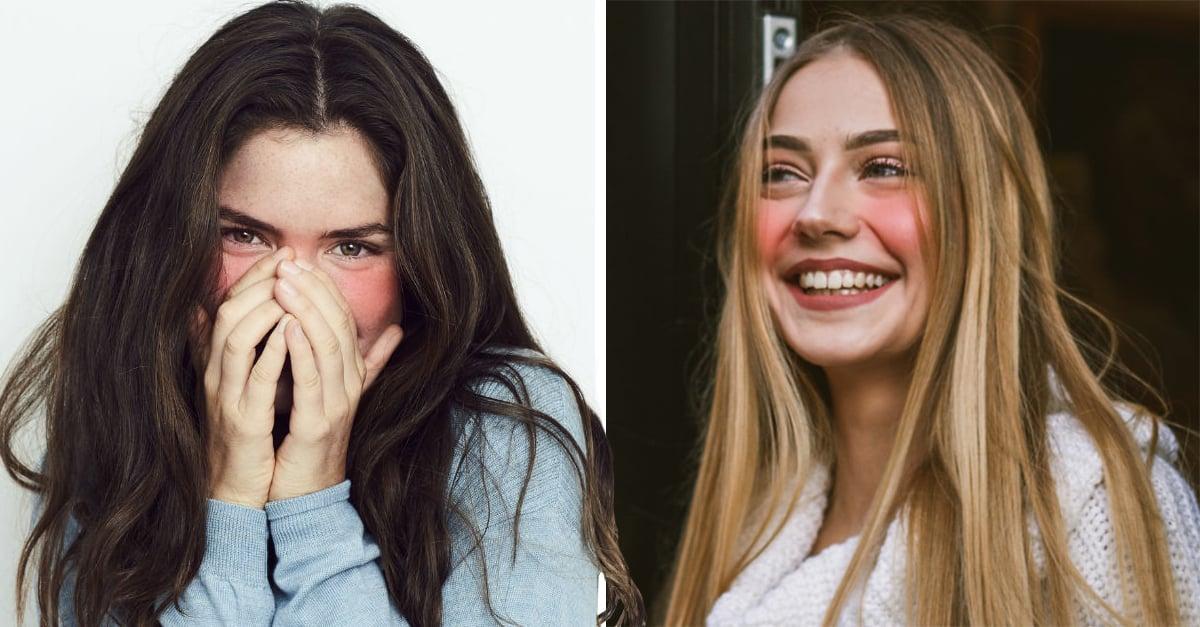 Personas que se sonrojan son más confiables