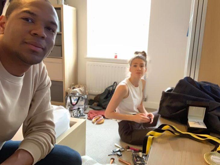 Cally y Edi Okoro
