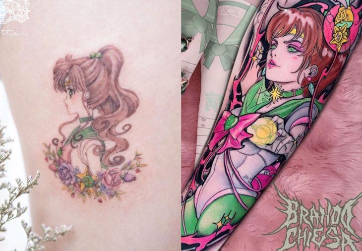 Tatuajes de Sailor Moon; tatuaje de Júpiter, Lita