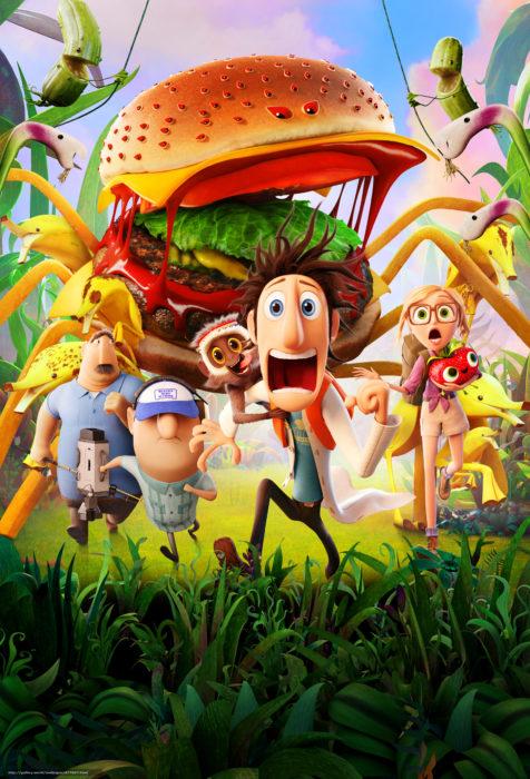 Acontecimientos de la cultura pop que sucedieron en septiembre del 2009; Lluvia de hamburguesas