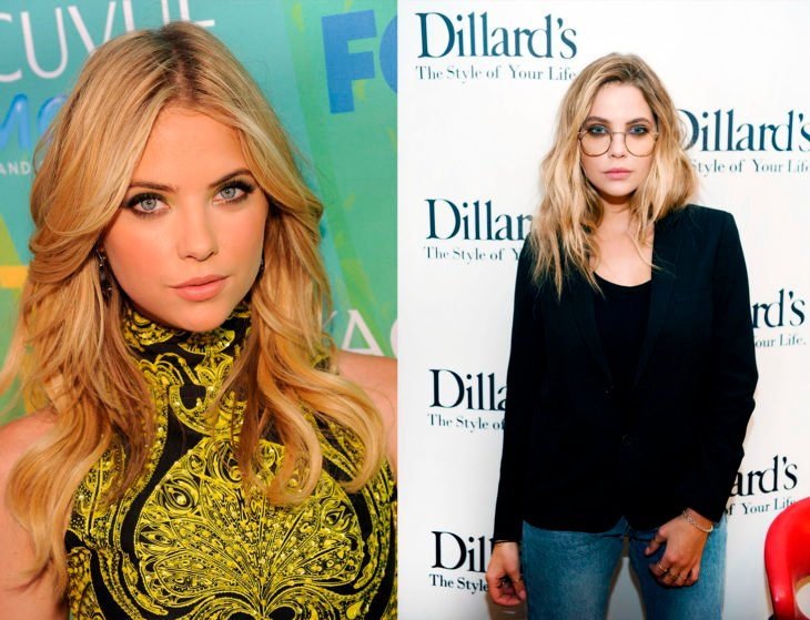 Ashley Benson antes y después de su papel de Hanna en la serie Pretty Little Liars